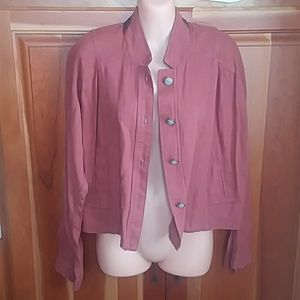 Free People officer style jacket- size small